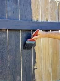 Paint And Protect Your Fence Fence Paint Fence Paint Colours Fence Decor