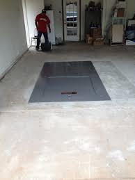 garage cube underground storm shelter
