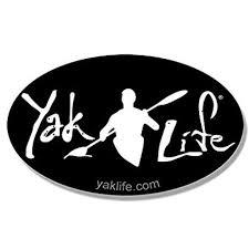 Licensed Oval Black Yak Life Sticker Decal Kayak Kayaking Kayaker Paddle 3 X 5 Inch Walmart Com Walmart Com