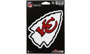 Kansas City Chiefs Logo Die Cut Decal New 6 X 4 Window Car Or Laptop Groupon