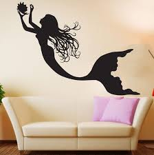Mermaid Wall Decal Under The Sea Wall Art Decor Decals Market