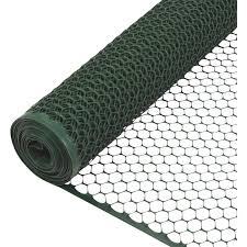 Tenax 3 4 In X 2 Ft H X 25 Ft L Hexagonal Plastic Poultry Netting Fence Green Kratzer Hardware