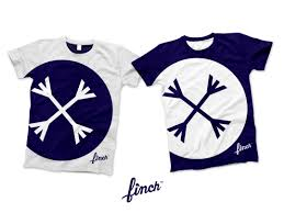 first t shirt design by finch mockup