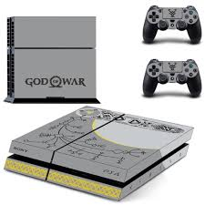 God Of War Ps4 Skin Sticker For Sony Ps4 Playstation 4 And 2 Controller Skins Ps4 Skin Sticker Decals Free S Ps4 Skins Stickers Ps4 Skins Playstation 4 Console