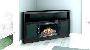 corner electric fireplace insert