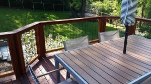 Wild Hog Railing Metal Grid Panels Boston Cedar