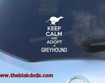 Popular Items For Adopt A Greyhound On Etsy Car Personalization Custom Vinyl Stickers Silhouette Vinyl