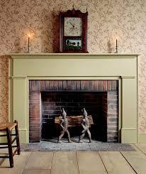 federal mantel fireplace ideas