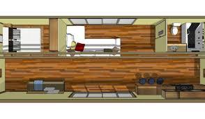 1x 40ft expandable floor plan