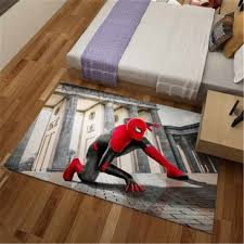 Marvel Spider Man 3d Print Flannel Area Carpet Thicker Bathroom Non Slip Mat Area Rug For Living Room Soft Child Bedroom Mat Carpet Aliexpress