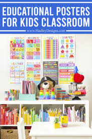 Show And Tell 16 Educational Posters That Get Attention Hadley Designs Party Blog