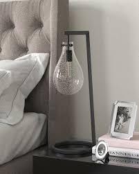 westin teardrop table lamp w seeded