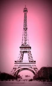 pink eiffel tower wallpaper