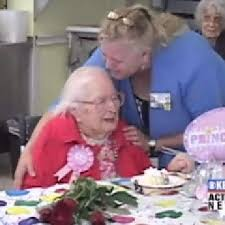 Happy 105th birthday to Polly West | KEPR
