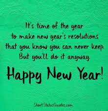 happy new year whatsapp status wishes for