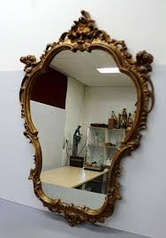 wall mirror design wood frame