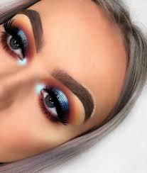 makeup looks dramatische eyeshadow