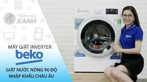 Máy giặt Beko inverter 9 kg: giặt nước nóng diệt khuẩn (WMY 91283 ...