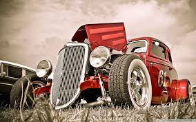 hot rod car 4k hd desktop wallpaper