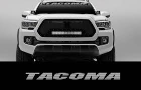 Tacoma 36 Front Windshield Banner Decal Toyota Truck Off Road Sport 4x4 2wd