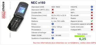 NEC n160 ...
