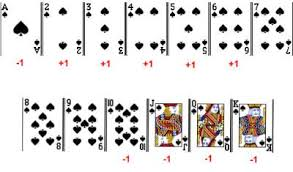 blackjack card counting how to count