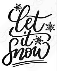 Excited To Share This Item From My Etsy Shop Let It Snow Vinyl Decal Snowflake Car Decal Window Decal Snowflakes Decals Winter Window Window Decals
