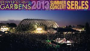 denver botanic gardens concert series