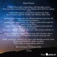 wajah kekasih adakah keh quotes writings by indri kho
