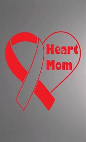 Heart Mom Chd Awareness Decal By Enthousiasmosdesigns On Etsy Chd Awareness Congenital Heart Defect Awareness Heart Disease Awareness