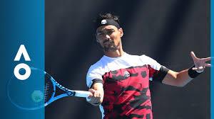 Horacio Zeballos v Fabio Fognini match highlights (1R ...