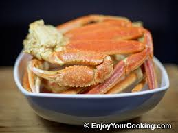 boiled snow crab legs with old bay