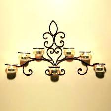 decors mosaic wall sconces tealight