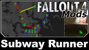 Fallout 4 Mods - Subway Runner - YouTube