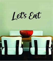 Let S Eat Wall Decal Sticker Bedroom Room Art Vinyl Home Decor Teen Fo Boop Decals