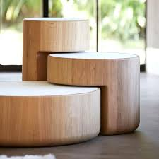 the levels nesting tables set of 3 in