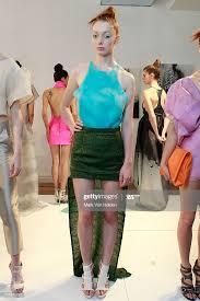 Fashion designer Abigail Stewart attends the Abigail Stewart spring... News  Photo - Getty Images