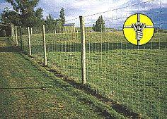 Max Flex High Tensile Woven Wire Fence Wire Fence Fence Equestrian Facilities