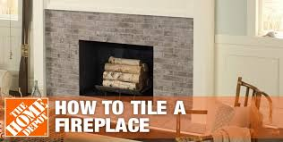 white washed brick fireplace how to