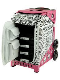 sport artist zebra pink frame bag