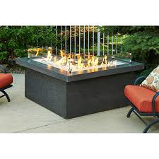 l shaped fire pit table