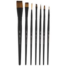 watercolor acrylic paint brushes 7