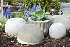concrete garden orbs how to make a