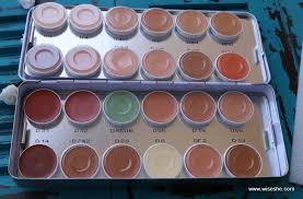 kryolan makeup artist kit haul