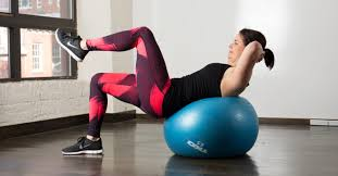 yoga ball ab workout 10 ility ball