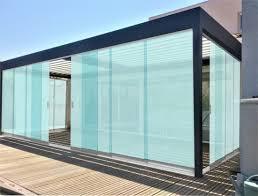 elegant aluminum frameless sliding