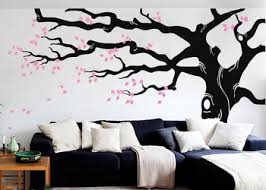 Large Tree Wall Decals Stickers Nursery Tree Wall Sticker Art Vinyl Diy Living Room Sofa Background Big Trees Mural Decor Lc590 Buy At The Price Of 52 88 In Aliexpress Com Imall Com
