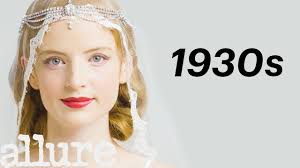 100 years of bridal makeup allure