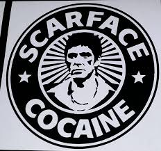 Scarface Al Pacino Cocaine Die Cut Vinyl Sticker Decal Sticky Addi Sticky Addiction
