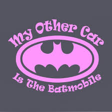 Batman Stickers My Other Car Is The Batmobile Vinyl Car Decal Mymonkeysticker Com